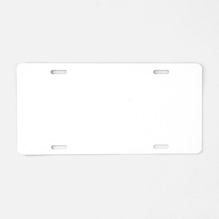 WVWhite_10x10 Aluminum License Plate