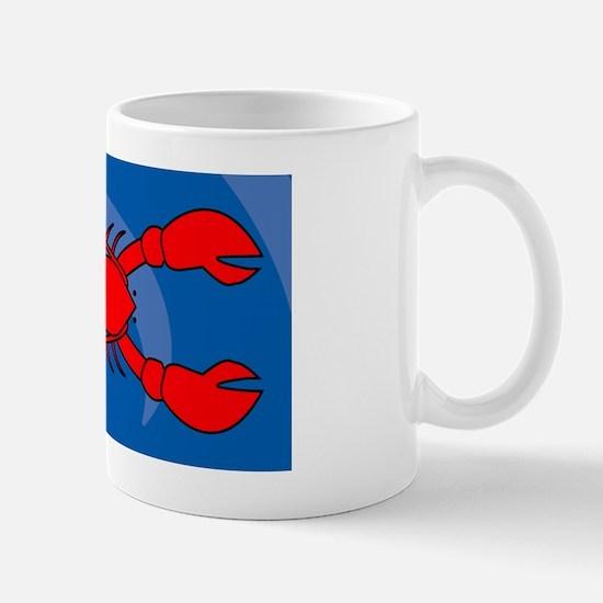 Lobster Small Luggage Tag Mug