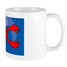 Lobster Large Luggage Tag Mug