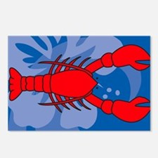 Lobster Yard Sign Postcards (Package of 8)
