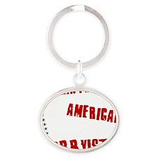 Dismantle American Lobbyists Oval Keychain