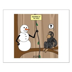 Snowman of the Apes Posters
