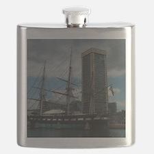 Constellation in Inner Harbor Flask