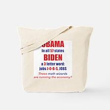 OBAMA IN ALL 57 STATES Tote Bag