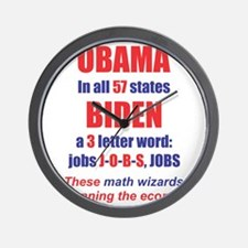 OBAMA IN ALL 57 STATES Wall Clock