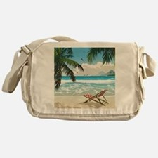 Day at the Beach Messenger Bag