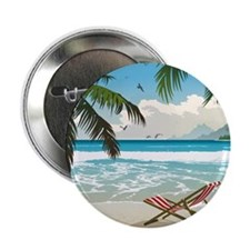 "Day at the Beach 2.25"" Button"