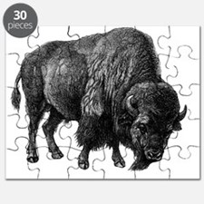 Vintage Bison Puzzle