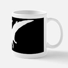 Dinosaur Pterodactyl SILHOUETTE Mug