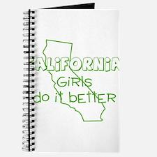 Cute California the golden state Journal