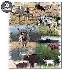 Texas Longhorn Cattle Puzzle