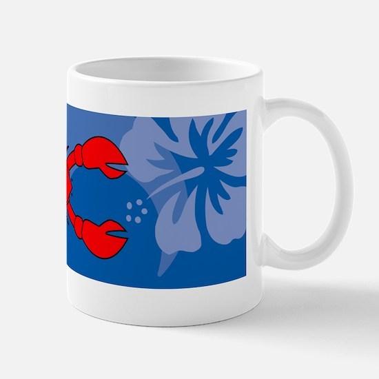 Lobster 20x6 Wall Decal Mug