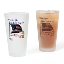 When I Die... Iraq Drinking Glass