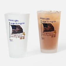 When I Die... Iraq Drinking Glass