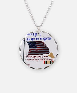 When I Die... Iraq Necklace