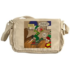 Elf Launch Messenger Bag