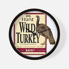 Hunt Wild Turkey Wall Clock