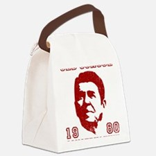 Old School Conservative Canvas Lunch Bag