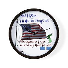 When I Die... Korea Wall Clock