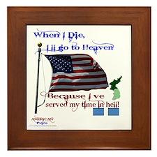 When I Die... Korea Framed Tile