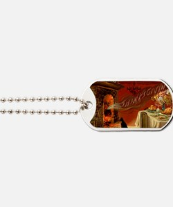 thanksgiving dinner Dog Tags