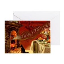 thanksgiving dinner Greeting Card