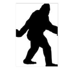 Bigfoot Flips The Bird Postcards (Package of 8)