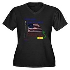 When I Die.. Women's Plus Size Dark V-Neck T-Shirt