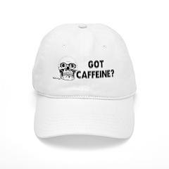 Got Caffeine Baseball Hat Baseball Cap