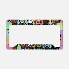 Rogues Gallery License Plate Holder