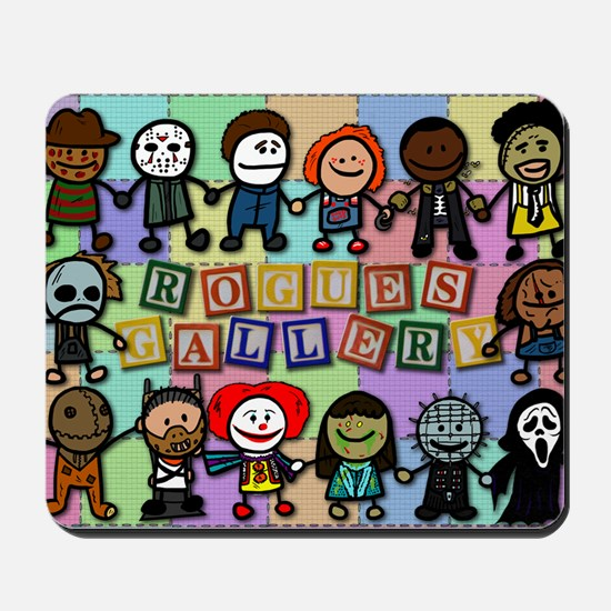 Rogues Gallery Mousepad