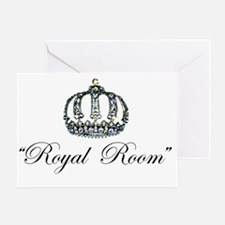 Royal Room Stickers Greeting Card