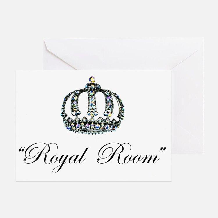 Royal Room Wall Decal Greeting Card