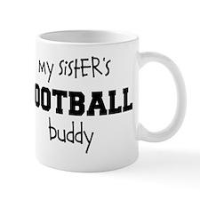 My Sisters Football Buddy Mug