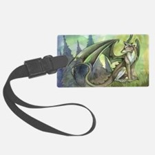 Dragon wolf hybrid Luggage Tag