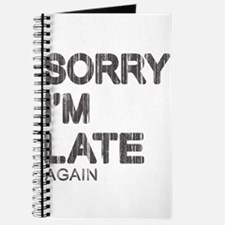 Sorry I'm Late Journal