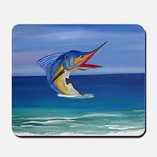 Marlin Deep Sea Fishing Mousepad