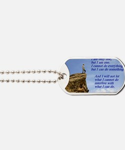 only one Dog Tags