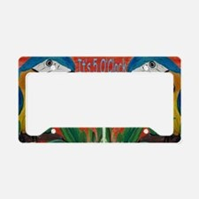 Its 5 OClock Parrots License Plate Holder