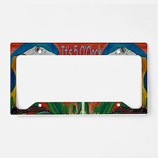 Its 5 OClock Parrots License Plate Holder
