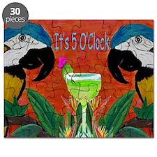 Its 5 OClock Parrots Puzzle