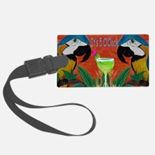 Its 5 OClock Parrots Luggage Tag