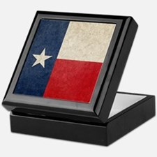 Texas Flag Keepsake Box