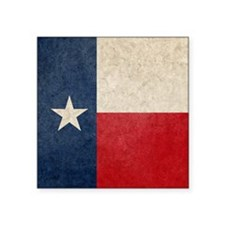 "Texas Flag Square Sticker 3"" x 3"""