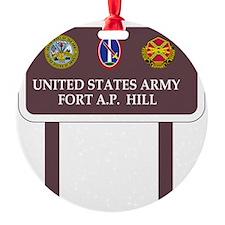Fort A. P. Hill Ornament