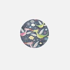 Cute Dragons Mini Button