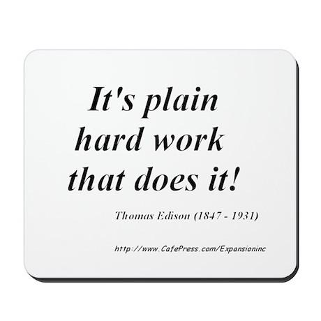 (Success - Edison - A) Mousepad