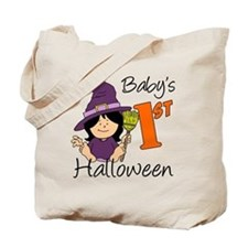 First Halloween Girl Tote Bag