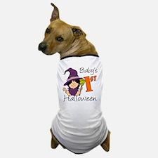 First Halloween Girl Dog T-Shirt