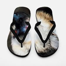 Cute Lemur Flip Flops